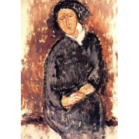 Seated Woman by Amedeo Modigliani