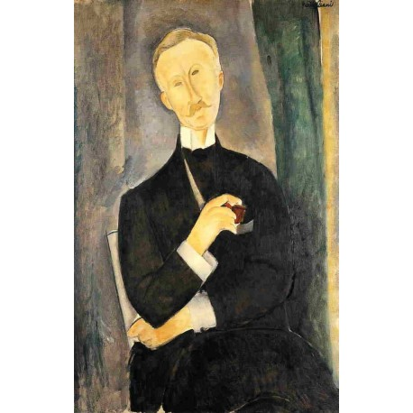Roger Dutilleul by Amedeo Modigliani
