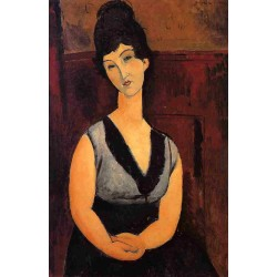 The Beautiful Confectioner by Amedeo Modigliani