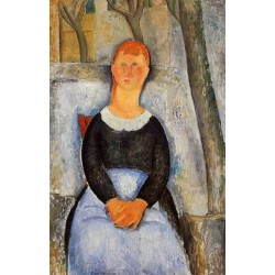 The Beautiful Grocer by Amedeo Modigliani