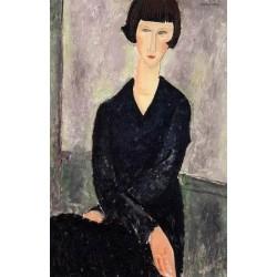 The Black Dress by Amedeo Modigliani