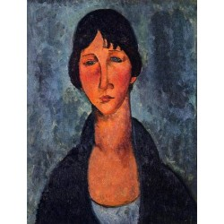 The Blue Blouse by Amedeo Modigliani