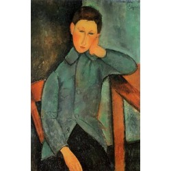 The Boy by Amedeo Modigliani oil painting art gallery