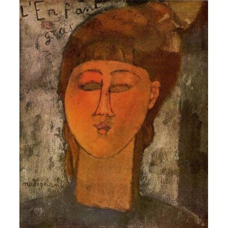 The Fat Child by Amedeo Modigliani