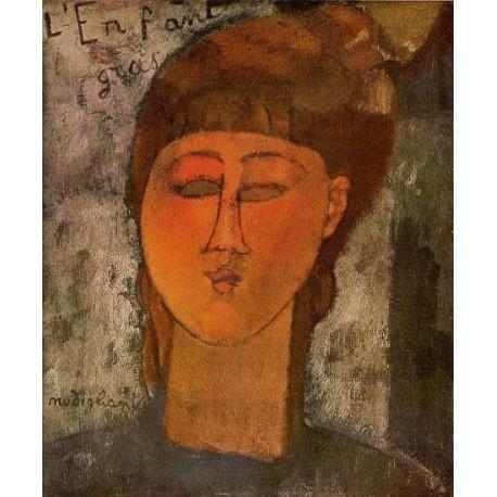 The Fat Child by Amedeo Modigliani