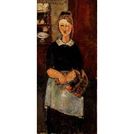 The Pretty Housewife by Amedeo Modigliani