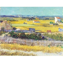 The Harvest by Vincent Van Gogh - Art gallery oil painting reproductions