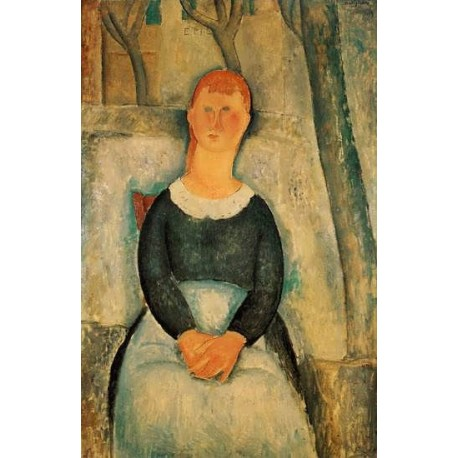 The Pretty Vegetable Vendor by Amedeo Modigliani
