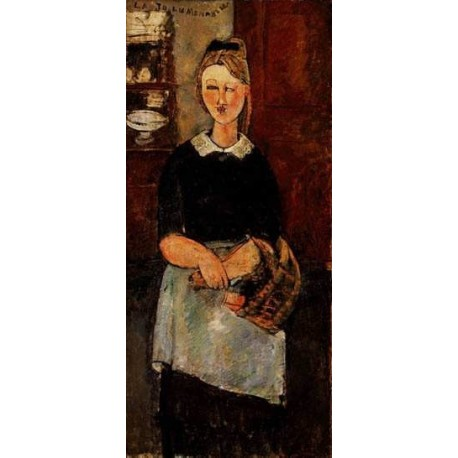 The Pretty-Housewife by Amedeo Modigliani