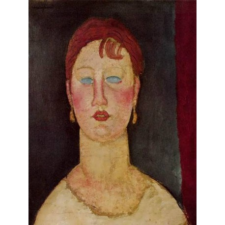 The Singer from Nice by Amedeo Modigliani