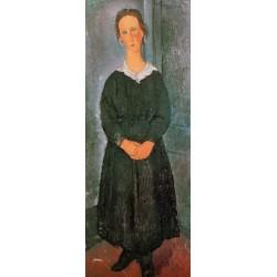 The Servant Girl by Amedeo Modigliani