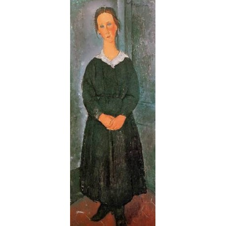 The Servant Girl by Amedeo Modigliani