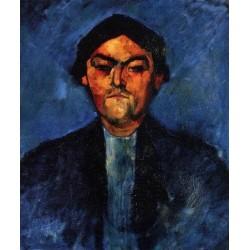 The Typographer (aka Pedro) by Amedeo Modigliani