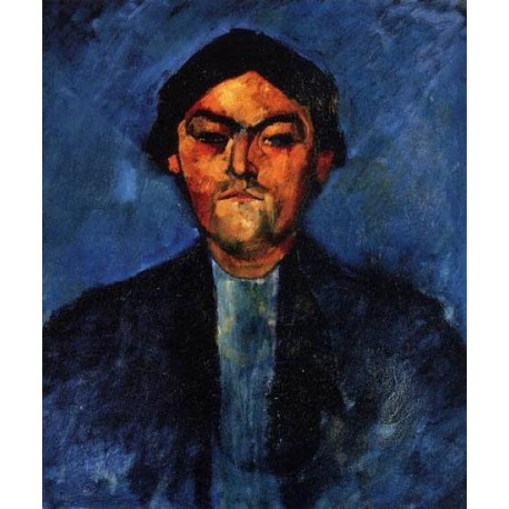 The Typographer (aka Pedro) by Amedeo Modigliani