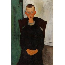 The Son of the Concierge by Amedeo Modigliani oil painting art gallery