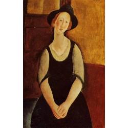 Thora Klinckowstrom by Amedeo Modigliani