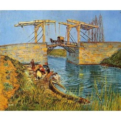 The Langlois Bridge at Arles by Vincent Van Gogh