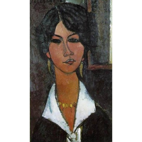 Woman of Algiers (aka Almaisa) by Amedeo Modigliani