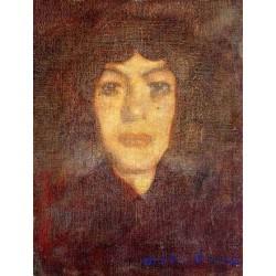 Woman_s Head with Beauty Spot by Amedeo Modigliani