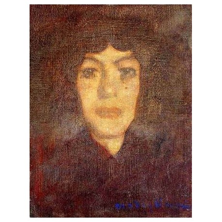 Woman_s Head with Beauty Spot by Amedeo Modigliani