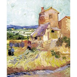 The Old Mill by Vincent Van Gogh