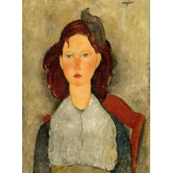Young Girl Seated by Amedeo Modigliani