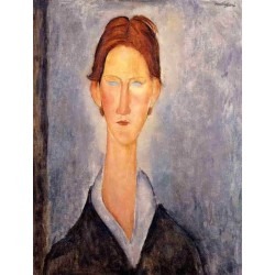 Young Man (aka Student) by Amedeo Modigliani