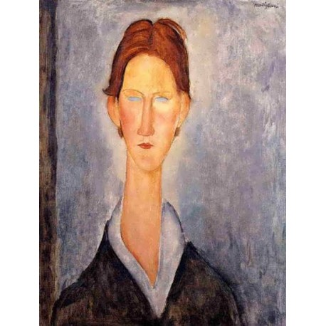Young Man (aka Student) by Amedeo Modigliani