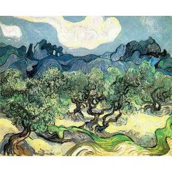 The Olive Trees by Vincent Van Gogh - Art gallery oil painting reproductions
