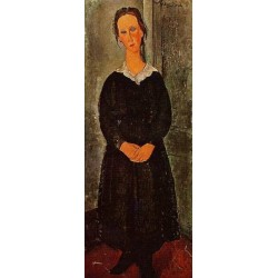 Young Servant Girl by Amedeo Modigliani