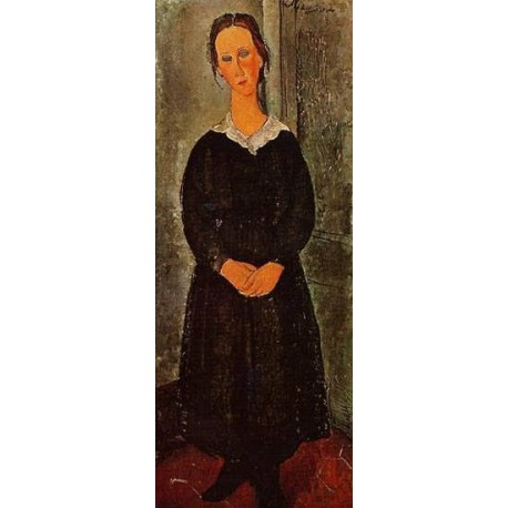 an analysis of the servant girl an oil painting by amedeo modigliani The servant girl amedeo modigliani (1918) amedeo modigliani (1918) painting - oil on canvas uploaded saturday, 28 december 2002 by member rocsdad public domain.