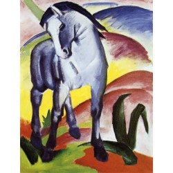 Blue Horse I by Franz Marc oil painting art gallery