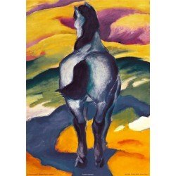 Blue Horse II by Franz Marc oil painting art gallery