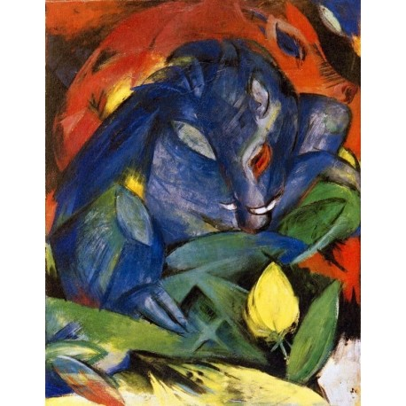 Eber und Sau by Franz Marc oil painting art gallery