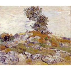 The Rocks by Vincent Van Gogh