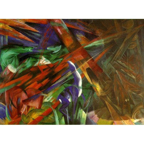 Fate of the Animals by Franz Marc oil painting art gallery