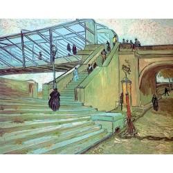 The Trinquetaille Bridge by Vincent Van Gogh