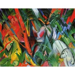 Rain by Franz Marc oil painting art gallery