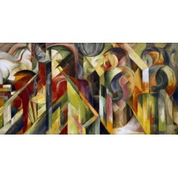 Stalle by Franz Marc oil painting art gallery
