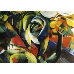 The Mandrill by Franz Marc oil painting art gallery