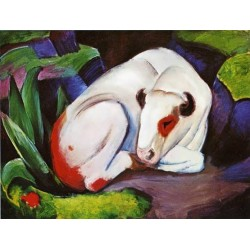 The Steer by Franz Marc oil painting art gallery