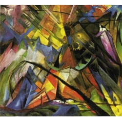 Tyrol by Franz Marc oil painting art gallery