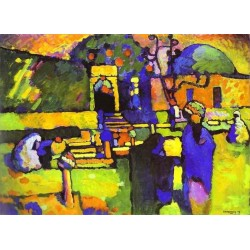 Arabs I Cemetery by Wassily Kandinsky oil painting art gallery