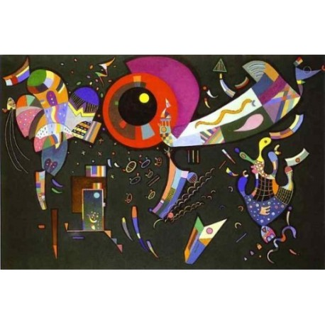Around the Circle 1940 by Wassily Kandinsky oil painting art gallery