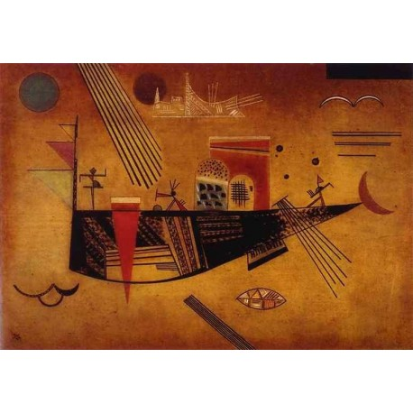 Capricious by Wassily Kandinsky oil painting art gallery