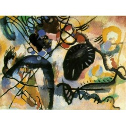 Blackspot 1, 1912 by Wassily Kandinsky oil painting art gallery