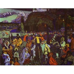 Colorful Life 1926 by Wassily Kandinsky oil painting art gallery