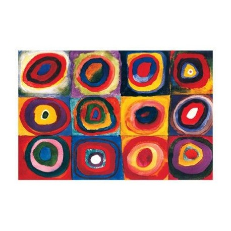 Color Study of Squares by Wassily Kandinsky oil painting art gallery
