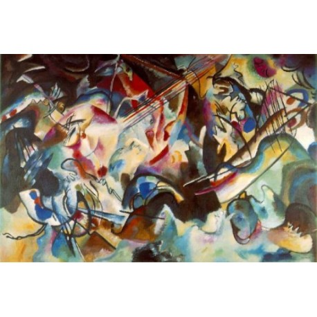 Composition 6, 1913 by Wassily Kandinsky oil painting art gallery