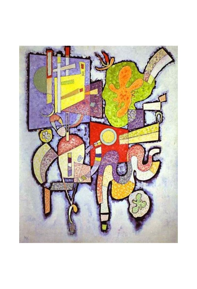 Complex Simple By Wassily Kandinsky Oil Painting Art Gallery